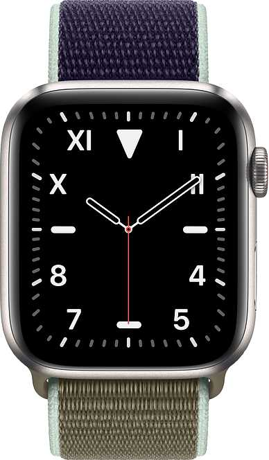 Apple Watch Series 5 GPS + Cellular Titanium Case 44mm